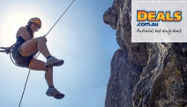See the Beauty of the Blue Mountains from a Different Perspective w/ a Half-Day Abseiling Adventure from Mt Dan's Adventures. Incl. Equipment & Lunch
