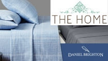 Get Cosy During Cold Nights w/ the New Styles of Daniel Brighton Winter Flannelette Sheet Sets! Ft. 100% Cotton Flannel Sheets in Range of Sizes
