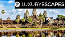 CAMBODIA Majestic 5-Night Stay at 5* Belmond La Residence d'Angkor, Next to Siem Reap River! Full-Day Angkor Wat Tour, Daily Brekkie, Cocktails & More