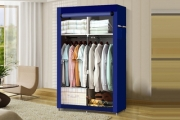 Need Some More Cupboard Space? Keep Your Home Tidy & Organised w/ a Portable Storage Wardrobe w/ Shelves & Cover! Available in a Range of Sizes