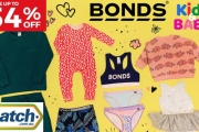 Grab a Bargain with the Biggest Bonds Sale for Kids & Baby Apparel from Catch! Save Up to 54% Off Zip Rompers, Wonderbodies, Underwear, Socks & More