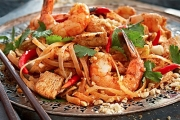 Strictly Delicious! Enjoy a 5-Dish Thai Banquet w/ Wine @ Strictly Thai, Kew! Think Crispy Veggo Spring Rolls, Red Curry Chicken & More
