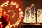 Cast an Enchanting Spell Over Your Space with LED Wire Seed Lights! Look Great Inside Vases & Jars. Battery Operated & Waterproof, 4 Colours