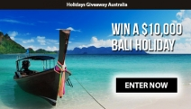 Need a Break? Answer a Quick Survey from Holidays Giveaway Australia for Your Chance to Win a $10,000 Trip to Bali or a Destination of Your Choice!