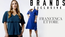 Add Sophistication to Your Wardrobe w/ the Modern, On-Trend Clothing Collection from Francesca Ettore! Shop Tunics, Dresses & More Incl. Plus Sizes