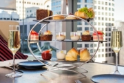 Raise Your Glass to a Luxe Weekday High Tea + Sparkling Wine for 2 at Crossroads Bar, Swissotel Sydney! Opt for Weekend High Tea Buffet w/ Sparkling