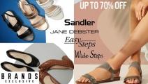 Enjoy Superior Comfort with Up to 70% Off Sandler, Jane Debster & Easy Steps Footwear! Shop a Range of Sandals, Flats, Boots, Heels & Lots More