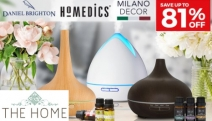 Create a Divine Escape in the Comforts of Your Home with Up to 81% Off from Diffuser Superstore! Please Your Senses with Daniel Brighton, Eco & More