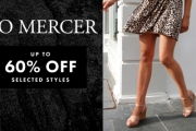 Step Out in Confidence with the Mid Season Sale from Jo Mercer! Shop Up to 60% Off Sandals, Boots, Sneakers, Wedges, Slides, Accessories & More
