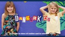 Banish Boring Kid's Clothes! Shop 50% Off All Kidswear @ Dangerfield! Plus P&H. T-Rex Playsuits, Giraffe Pocket Tees, Jungle Friends Tops & More