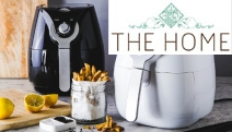 Experience Healthier, Guilt-Free Cooking with the Deluxe Air Fryer! Can be Used to Bake, Roast, BBQ, Grill & Broil with Little to No Added Fat