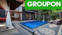 CANGGU, BALI Gather Your Friends for a 4* Group Getaway in South Bali. Relax in 2-Bedroom Pool Villa for 4 w/ Daily Breakfast. 3-10N Options Available