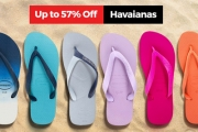 Get Your Hands on the Havaianas Sale & Make Your Feet Happy with the Classic Brazilian Sandal! Shop a Range of Popular Colours & Styles from $9.99