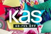 Brighten Your Home for Less w/ the KAS Cushion Runout! Over 100 Cushion Covers & Euro Pillowcases in Vibrant Designs from Sydney Design House KAS