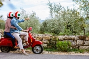 See the City from a New Perspective w/ a 3.5-Hr Tour on a Scooter or Motorcycle, Incl. 20-Min Riding Lesson! Choose from 4 Tours. Upgrade for 2 or 4 Ppl