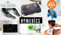 Bliss Out in the Comfort of Your Home w/ HoMedics Personal Massagers! Get Up to 43% Off Foot Massagers, Massage Pillows, Head Massagers & More