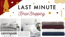 Bring Luxury to Your Home with the Canningvale Last Minute Xmas Shopping Sale! Ft. Up to 75% Off Cotton Sheet Sets, Pillows, Bath Towels & More