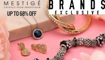 The Finer Things in Life Don't Have to Cost a Fortune! Enjoy Up to 68% Off Mestige Jewels Ft. Swarovski® Crystals! Statement Necklaces, Earrings & More