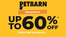 Treat Your Furry, Feathered & Fishy Friends with Up to 60% Off the Petbarn Clearance! Shop Big Brands Like Supercoat, Advocate, Royal Canin & More