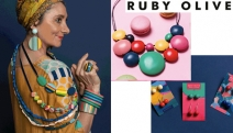 Live Loud & Bold w/ this Fab Range of Vibrant Jewellery by Ruby Olive! Designed in Oz w/ Sustainably Sourced Wood, Hand-Poured Resin & Nickel Free