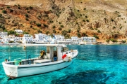 GREECE 4N Barefoot Bliss in Greek Island of Crete @ St. Nicolas Bay Resort Hotel & Villas! 5* Oasis w/ Private Beach. Daily Meals & More + 1 Child Free