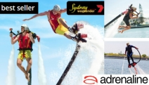 Enjoy the Exciting Adventure of Jet Pack or Jet Board Flight in Sydney! Incl. In-Water Training, 10-Min Flight, Training, Safety Equipment & More