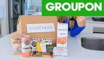 Treat Yourself with Goodies from the The Goodie Box Trial! Get a Trial Subscription w/ a Mix of Full-Sized + Samples of 8-10 Snacks. Delivery Included