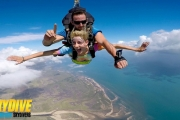 Get Your Adrenaline Pumping with a Tandem Skydive at 14,000ft with 1300 Skydive! Incl. Experienced Instructor for a Fun & Safe Adventure. Ages 12+