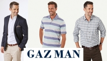 Fellas, Stand Out from the Crowd with the GAZMAN Sale. Shop Quality Men's Polos, Shirts, T-Shirts, Jackets, Accessories and More at Reduced Prices!