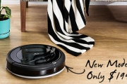 Put Up Your Feet & Let the Revolutionary RoboVac do All the Hard Work! Great for Hard-to-Reach Places Like Under the Couch or Bed! Plus P&H
