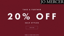 Treat Yourself to the Jo Mercer Sale w/ a Further 20% Off Sale Items! Wide Range of Styles Incl. Boots, Heels & More. Discount Applied at Checkout