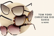 You'll Wear Your Sunglasses at Night w/ the Men's & Women's Designer Sunnies Sale! Shop Styles from Tom Ford, Christian Dior, Guess & More. Plus P&H