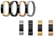 Pimp Your Fitbit w/ a Stainless Steel Woven Replacement Band for Fitbit Alta or Fitbit Charge 2! Black, Silver, Gold or Rose Gold. Tracker Not Included