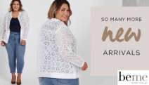 Time for a Closet Overhaul with the Latest Plus Size Fashion from BeMe! Shop Flattering On-Trend Pieces w/ Tops, Dresses, Pants, Skirts & More