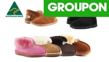 Get Ugg Ready as the Cold Creeps in w/ these UGG Unisex Slippers! A-Grade Australian Sheepskin. Choice of Wool Collar or Classic Style from $49