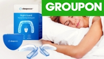 Stop Grinding Teeth When Asleep with the Sleepeeze Night Guard Thermo-Forming Dental Trays! From $14, Adjust & Molds to the Shape of the Mouth