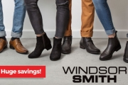 Ladies & Gents, Step Out in Style w/ the Windsor Smith Footwear! Shop the Collection for a Range of Classic Styles & Colours, All Under $100