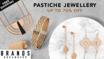 Luxe Jewels Don't Have to Cost a Fortune! Shop this Stunning Range of Pastiche Jewellery w/ Up to 70% Off! Art Nouveau Pendant w/ Pearl Drop & More