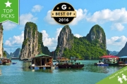VIETNAM w/ DOMESTIC FLIGHTS 15-Day North-to-South Tour Incl. Scenic Halong Bay Cruise! See Ho Chi Minh City, Hanoi, My Son, Cu Chi Tunnel & More