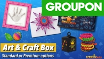 Fuel Your Kids Imagination & Keep them Busy at Home with a CreativKits 1-Month Kids Activity Box Subscription - Delivered to Your Door from $29.99!