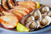 Dive into an All-You-Can-Eat Seafood Buffet + Drinks for 2 @ the 5* Pullman Melbourne on The Park! Crystal Bay Prawns, Tasmanian Smoked Salmon & More
