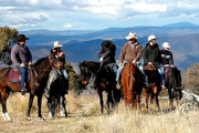 JINDABYNE Rustic High Country Adventure at Snowy Wilderness Resort! Incl. 2-Nights in a Self-Contained Lodge, Full-Day Guided Horseback Tour & More