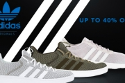 Sport a New Pair of Sneakers w/ this Adidas Lifestyle & Sports Footwear Sale for the Whole Fam! Shop the Women's Lite Racer, Men's Cloudfoam & More