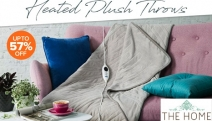 Beat the Cold & Snuggle in the Warm Embrace of Plush Heated Throws this Winter! Shop a Range of Electric Throws from Jason, Kambrook, Breville & More