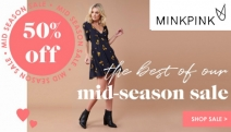 Need a Dress to Impress? Shop the Best of the MINKPINK Mid Season Sale! Get Up to 50% Off Selected Styles Ft. Jumpsuits, Skirts, Swimsuits & More