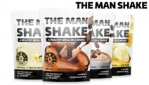 Bid Your Beer Belly Goodbye with a One Month Supply of The Man Shake! Buy 3 & Get 1 Free - the Perfect Meal in a Shake. Choc Mint, Coffee & More