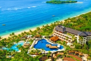 BALI Relax in Paradise w/ Up to 5 Nights at the 5* Nusa Dua Beach Hotel & Spa! Incl. Daily Brekkie, Cocktails, Afternoon Tea, Late Checkout & More