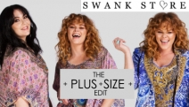 Gorgeous Outfits for Gorgeous Curves w/ the Swank Store Plus Size Edit! Take 20% Off Your 1st Order w/ Code F20C. Shop Kaftans, Maxis, Shrugs & More