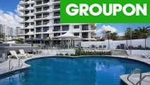 GOLD COAST Take a Coastal Break for Up to 5 Nights @ Ocean Royale Broadbeach! Self-Contained Apartment Stay for 2 or 4 w/ Wine, Tennis & More