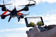 Capture Scenery & Scandal w/ a Remote Controlled Drone w/ Live HD Streaming! Stream Footage Live from the Phone App, Ft. 360° Rolling Function & More